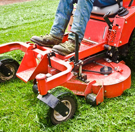 Landscape Maintenance Company in Norfolk, MA | Ten Four LLC - mower